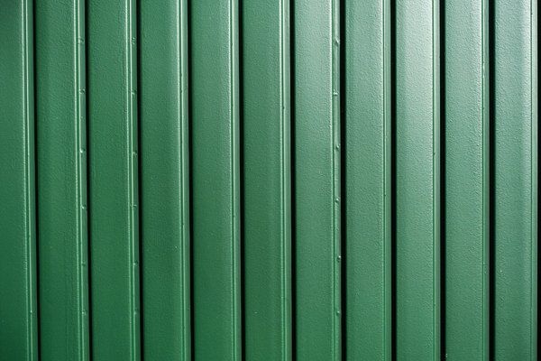 vertical green metal texture