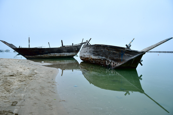 Ship Wreck on the shore