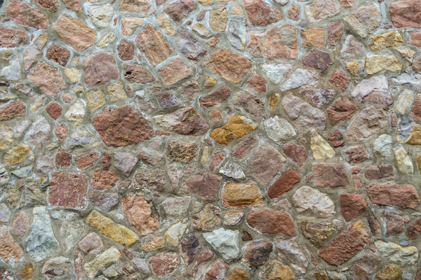 colourful rocks texture