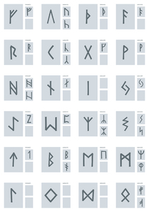 Free runes illustration: This was designed for a postershop but never used.