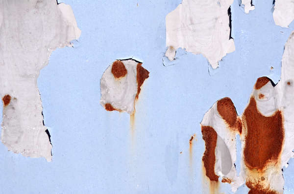 Rusty paint texture
