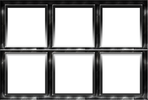 dark metal window frame 2