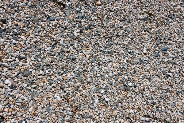 Shingle texture: Shingle on a beach in England.