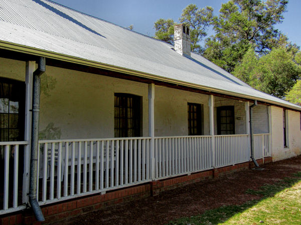 historic homestead3: preserved historic Australian homestead
