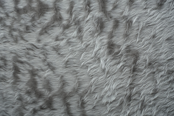 artificial silver fur 2