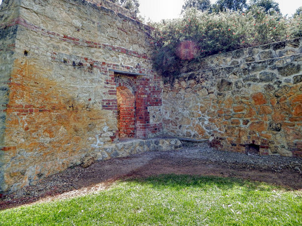historic lime kiln remains15: remaining ruins of historic lime kilns now in secluded park
