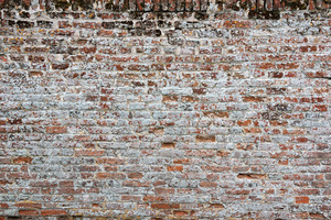 Old wall background: A very old brick wall in Norfolk, England.
