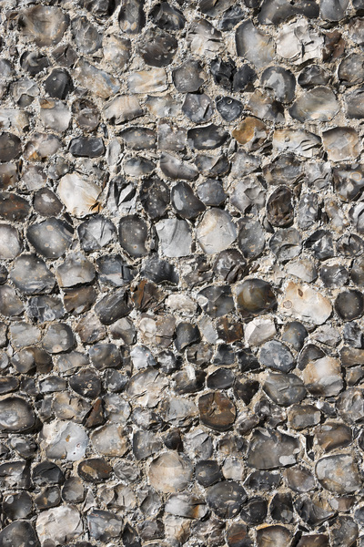 Cobblestone wall background