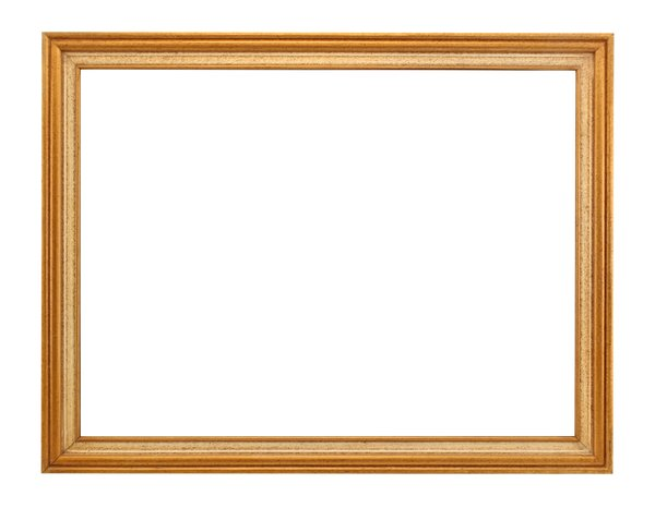 Thin Wooden Frame