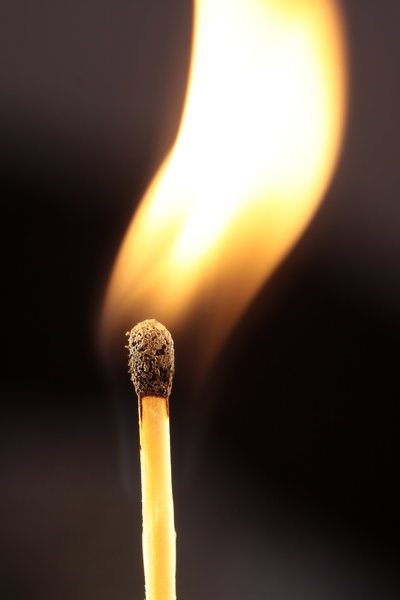 Lighting a match 2