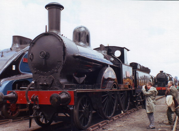2-4-0 Steam Locomotive