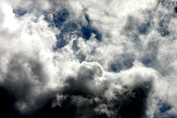 Cloudy Skies: The somewhat dramatic sky outside my window. I know its just another sky shot, but I couldnt resist ;)