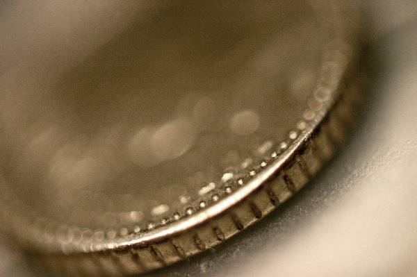 Five Pence Piece: A five pence piece with no Queen. :P