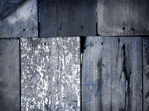 old  wood: details of an old wooden shed