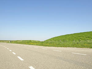 dutch landscape: dutch landscape series. Near by Ouddorp, Goeree Overflakkee, the Netherlands