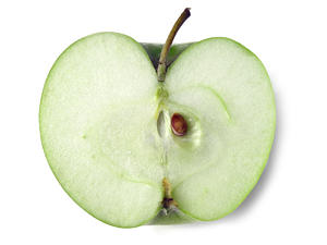 apple: green apple