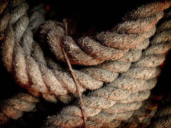 ropes: old ropes I found in an old windmill