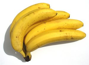 5 bananas: none