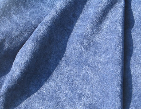 blue fabric: none
