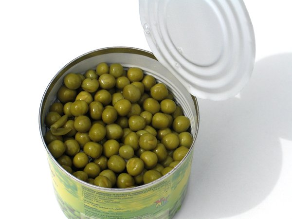 canned peas 2: none