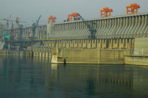 Three Gorges Dam up close