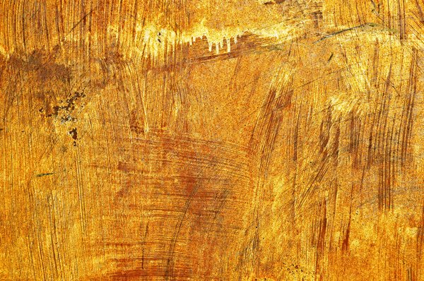 Grunge brushstrokes 1: Very grungy brushstrokes discovered on the side of a large drum.