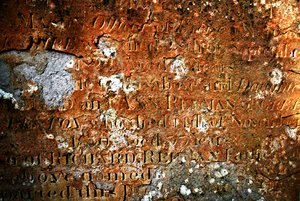 Ancient Grave 2: Decaying tombstone texture.