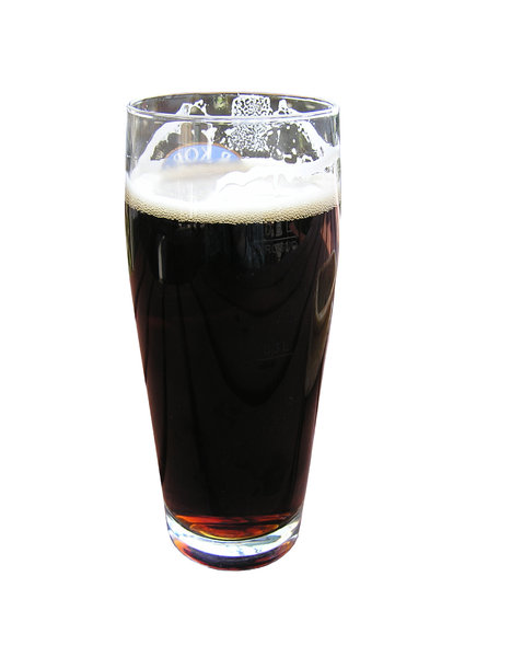 Dark beer: A glass of dark beer. New research shows dark beer is richer in flavonoids, which have powerful antioxidant effects, than light beer. Please mail me or comment this photo if you liked/used it. Thanks!I would be happy to receive the information about pictu