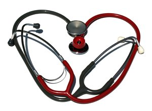 two stethoscopes 2