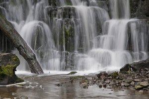 Scaleber Force: Scaleber Force Waterfall in North Yorkshire