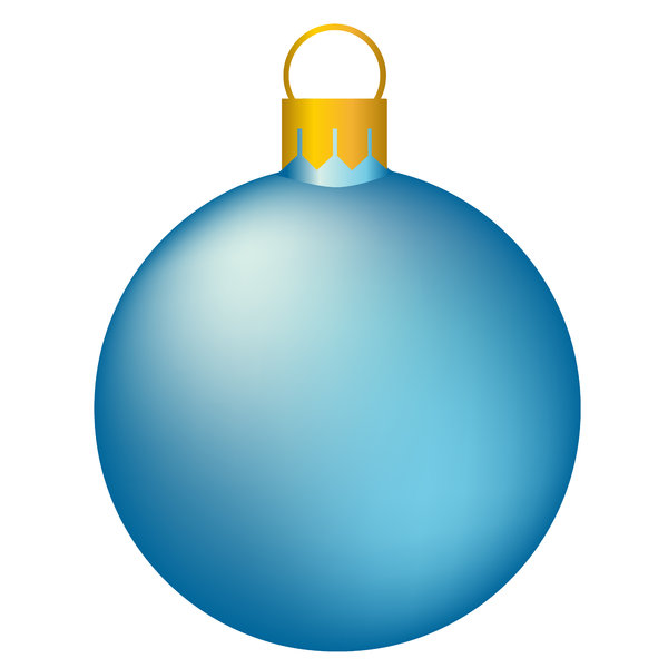 Christmas Tree Bauble 3: Isolated bauble on a white background.