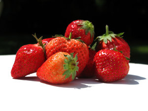 ripe strawberries 1