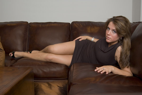Leather couch 3