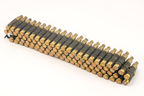 Ammunition belt 3: Used ammunition belt for polish machine-gun