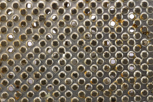Rasper texture 2: Close-up of grate for vegetables