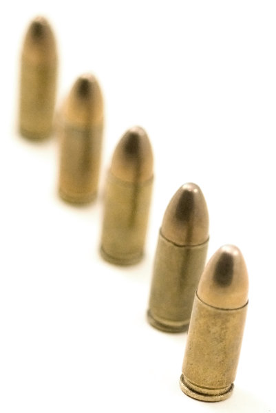 9 mm pistol ammunition 4: 9 mm gun bullets
