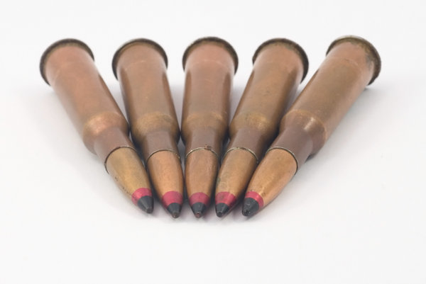 Incendiary bullets for rifle 1