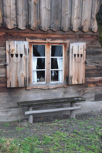 Window in old cottage