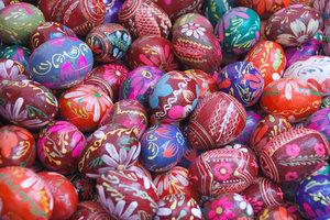 Easter eggs  1: Decorated eggs from Poland
