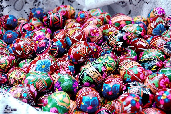 Easter eggs  3: Decorated eggs from Poland