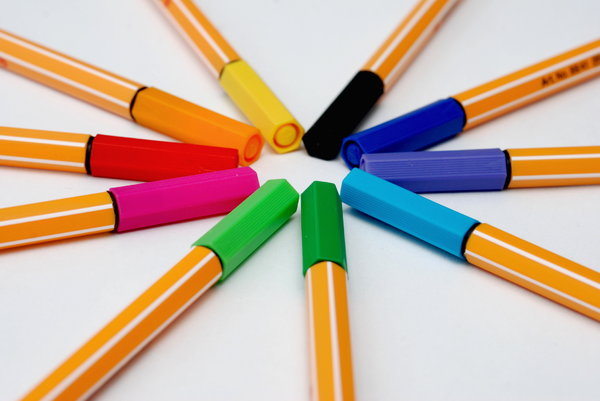 Recorders set 3: Pen which has its own ink-source, and usually a tip made of a porous material, such as felt or nylon.