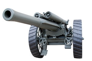 British heavy field artillery