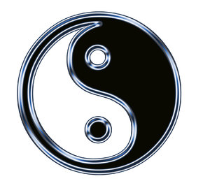 Yin Yang symbol 2: Chinese sign of balance