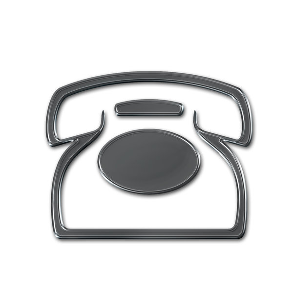 Telephone icon 2: Phone pictogram