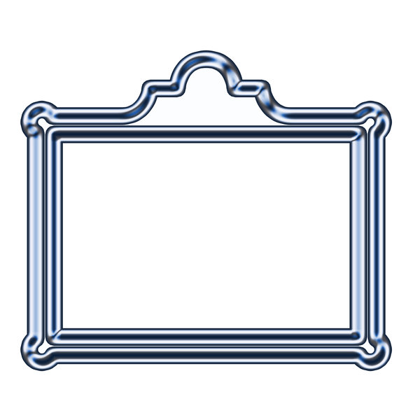 Rectangle picture frame 4: Rectangle for painting or photo