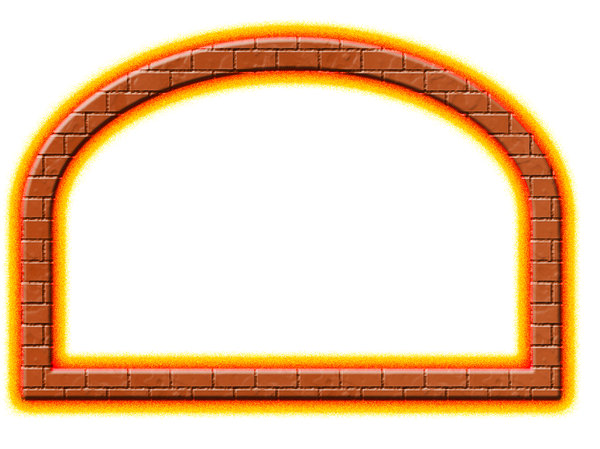 Simple picture frame 4: Arch frame for image, painting or mirror