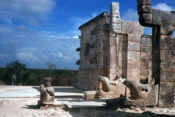 Sculptures from Chichen Itza 2