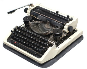 Typewriter 2: A typewriter is a mechanical or electromechanical device with a set of