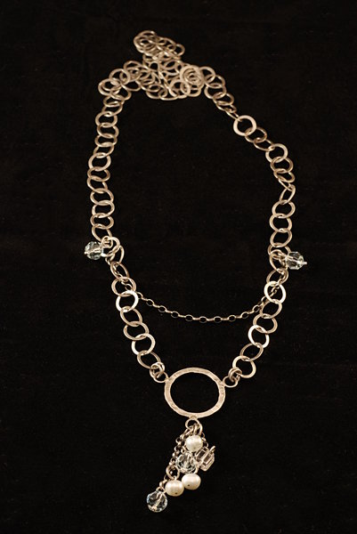 Necklace - oxidated silver 1