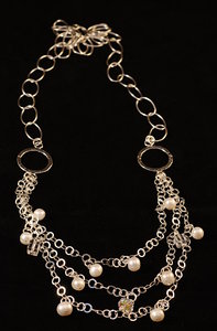 Necklace - oxidated silver 3